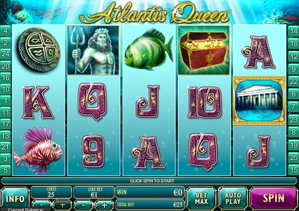 Atlantis Queen Video Slot