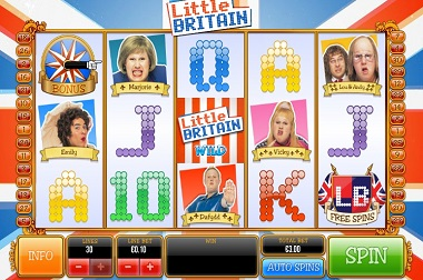 little britain Video Slot