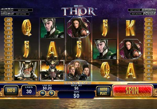 Thor Playtech Video Slot